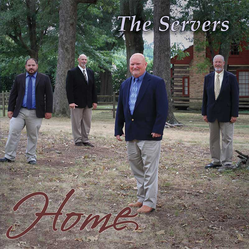 The Servers - Home Cover